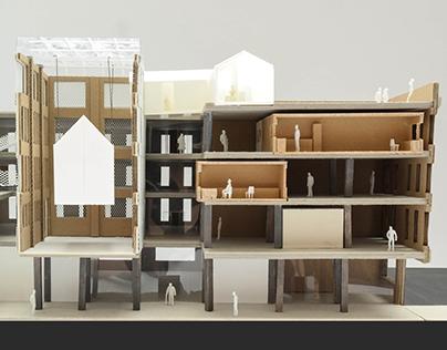 Spitalfields House Museum Model