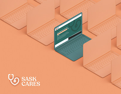 SaskCares - Branding