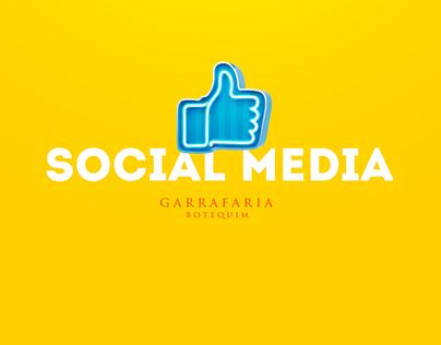 Social Media - Garrafaria Botequim