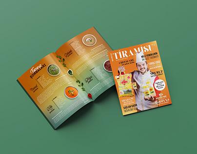 """Food Magazine """"Tiramisu"""""""