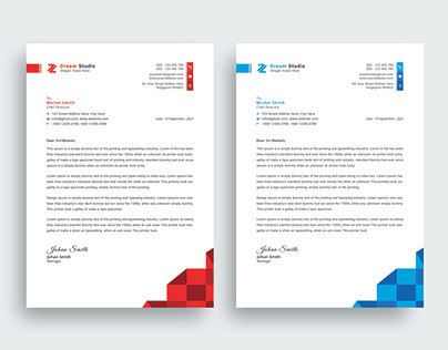 Corporate Letterhead Design - Stationery Design