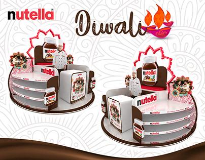 Nutella Diwali Instore Stand
