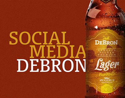 Social Media - Cervejaria DeBron