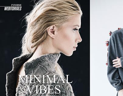 Minimal vibes for Invoise magazine