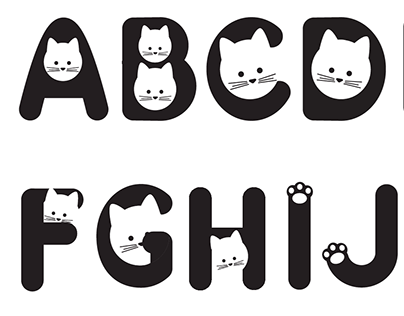 Design typographique, création d'un alphabet