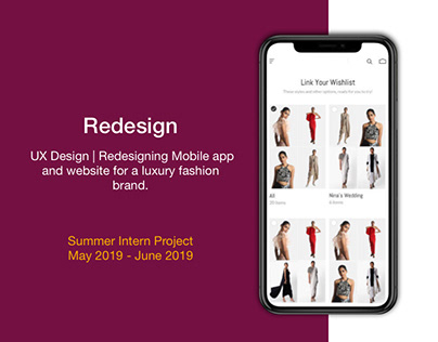 UX Design | Summer Intern Project