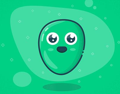 Cute Blob Character