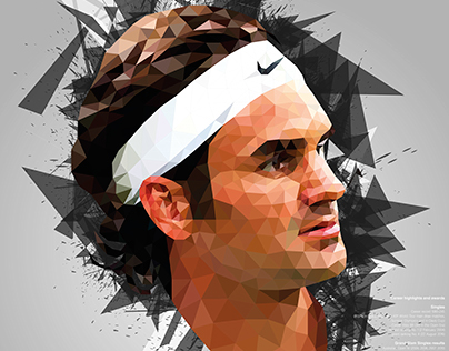 Top Athletes Low Poly