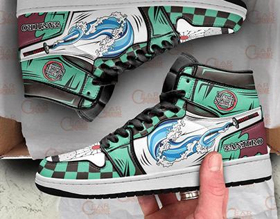 Tanjiro Kamado Jordan Sneakers