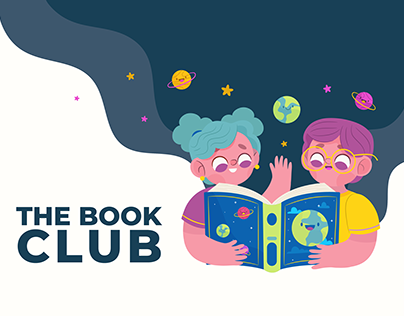 UX/UI The Book Club/ Animation Flash Banner