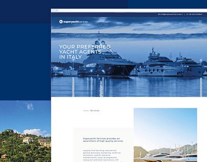 Superyacht Services Website