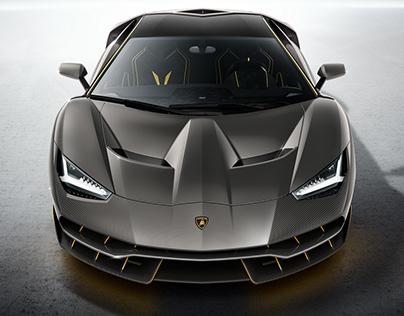 Lamborghini Centenario LP 770-4. Perfection Forged.