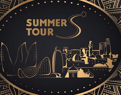 branded gift box Summer Tour