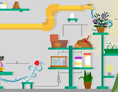 Ilustraciones para Tienda Online - Jardineria Canna