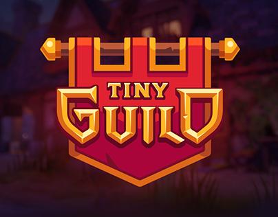 Tiny Guild - Game Logo & UI