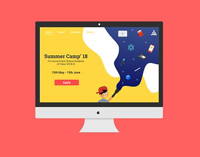 Summer School Website