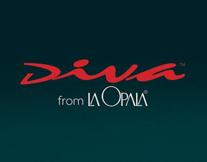 Digital banners for Diva from La Opala