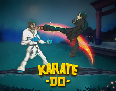 Mobile Game Trailer, Karate Do