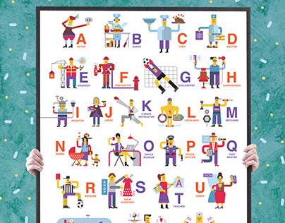 ABC POSTER | PeekaBoo Language School