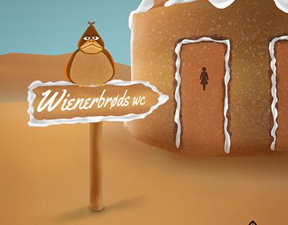 Wienerbrøds wc