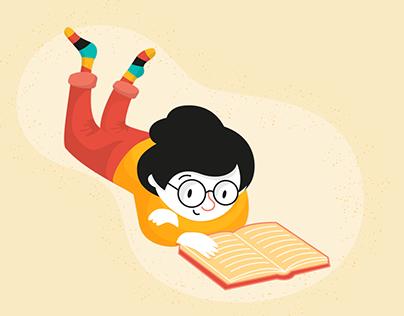 Ilustraciones para manuales de primaria
