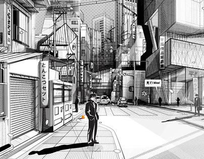 東京都 - Tokyo Metropolis, Illustrations