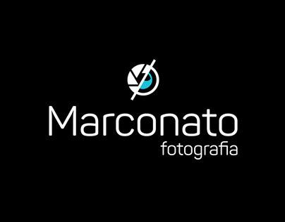 Logo e Identidade Visual Marconato Fotografia