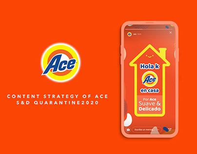 Digital Content Strategy Ace Suave y Delicado P&G