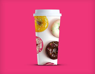 4K Coffee Cup PSD mockup by Mockup Depot