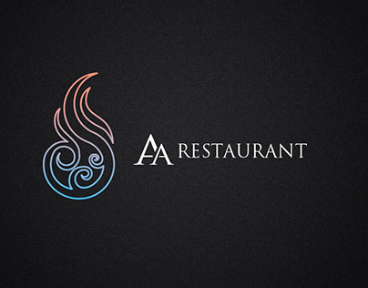 AA Restaurant Logo & Brandbook