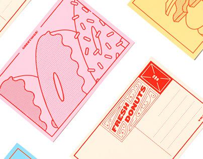 Delicious Postcards
