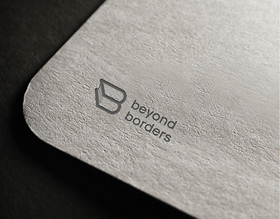 Making of Beyond borders logo