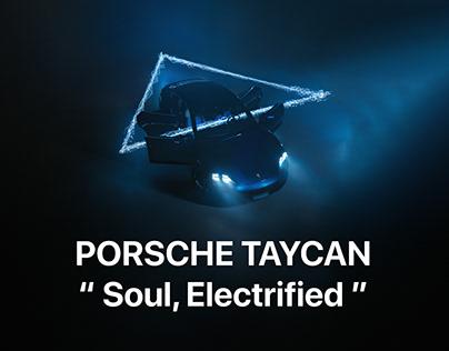 Porsche Taycan: «Soul, Electrified», 19TONES ╳ BORSCH