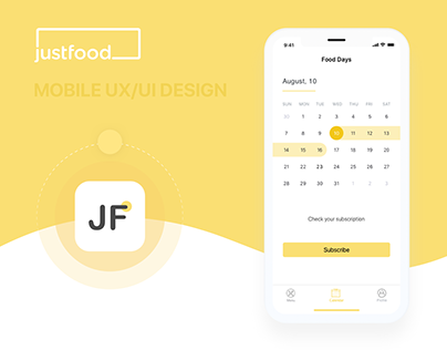 Just Food — Mobile UI/UX