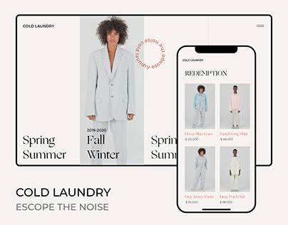 Cold Laundry, Website & Branding