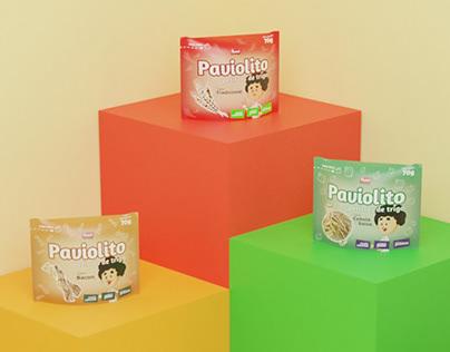 Paviolito - Design de Embalagem