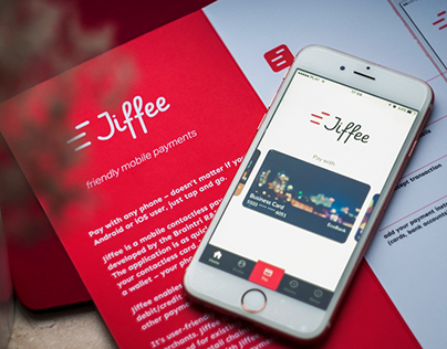 Jiffee mobile app design