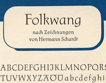 P22 Folkwang Pro - Digital Type Design