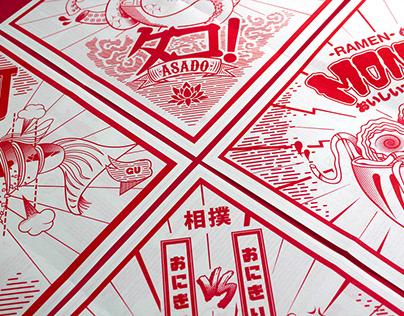 Japan Pack. Recetas japonesas ilustradas By Dzeko.