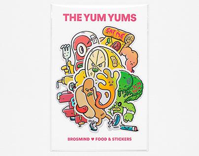 BROSMIND: OK COSMOS & THE YUM YUMS