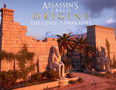 Assassin's Creed Curse of the Pharaohs Art-Thebes city