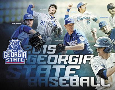 2014-15 GSU Baseball Poster