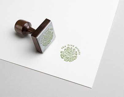 The Frog Prints logo