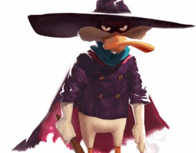 Darkwing Duck (Spine animation)