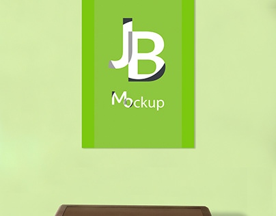 Free Photoshop Mockup - Wall Art