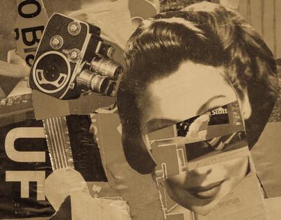 Fraulein Muller // Collage