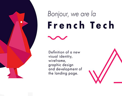 La French Tech webdesign