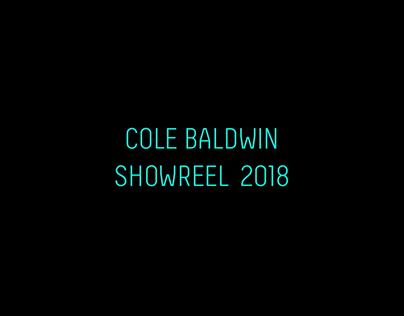 Cole Baldwin Showreel 2018