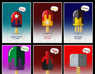 Super Hero Ice cream