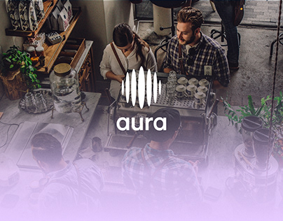 Aura Brand Identity and Website
